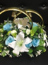 Кольца на авто розы и лилии Кл-041 Прокат