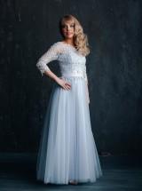 Вечернее платье Впк25 голубое