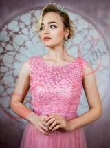 Вечернее платье Впк25 розовое Прокат